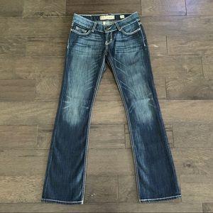 BKE Denim Sabrina Boot Jeans Flare Leg 27R 31 1/2